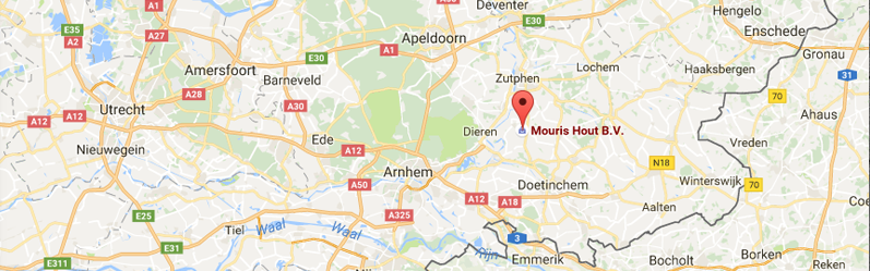 google maps location of mouris hout