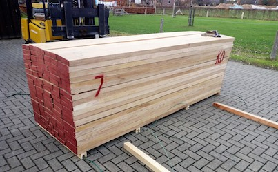 picture of sawn wood
